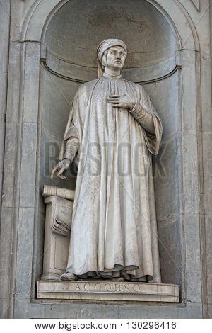 Florence Uffizi Statue Accorso