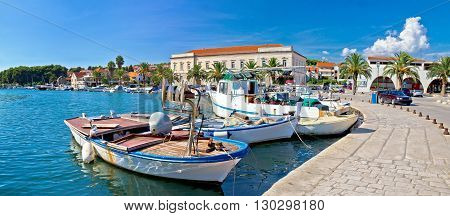 Stari grad on Hvar island panorama Dalmatia Croatia