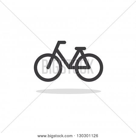 bicycle icon and symbol