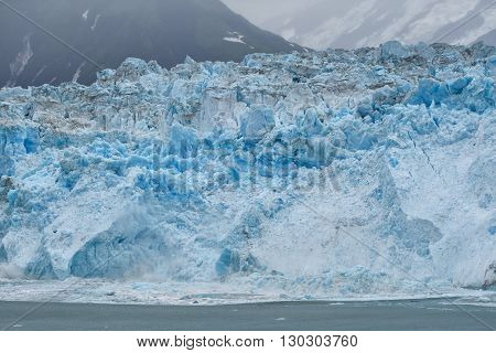 The Hubbard Glacier While Melting