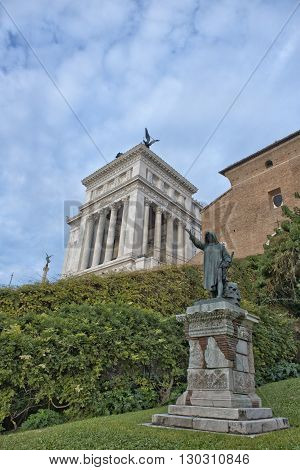 Rome Unknow Soldier View From Campidohlio