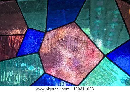 Stratified Glass Background
