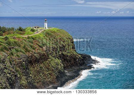 Kauai Lighthouse Kilauea Point Hawaii Island