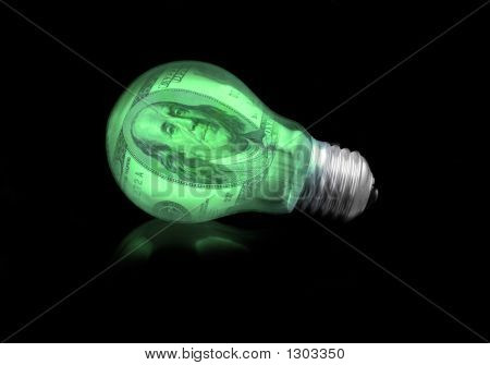 Concept Of Financial Idea -  Light Bulb