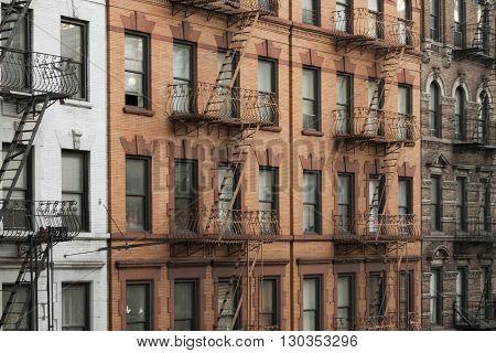 New york manhattan buildings new york morningside height building view detail