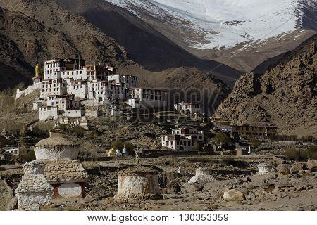 Likir Monastery, tibet  himalaya Leh Ladakh, India