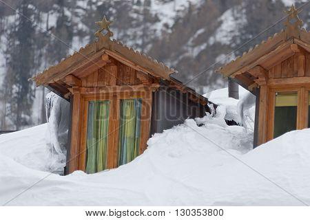 Mountain Dormer Stone House Dormer