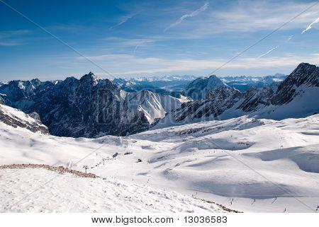 Winterlandscape In The Zugspitze, Germany
