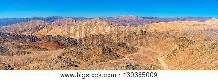 The hiking in Eilat mountains is the best attraction for those who likes to enjoy the nature's beauty Israel.