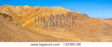 The Eilat mountains are the best place to enjoy the rich color palette of nature Israel.