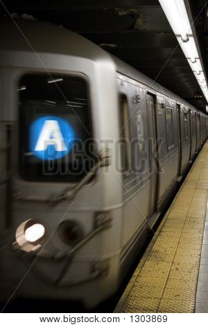 A Train In New York