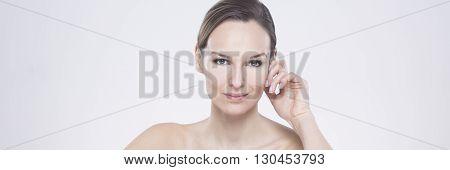 Woman With Shrewd Glance