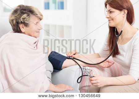 I Must Check Your Blood Pressure...