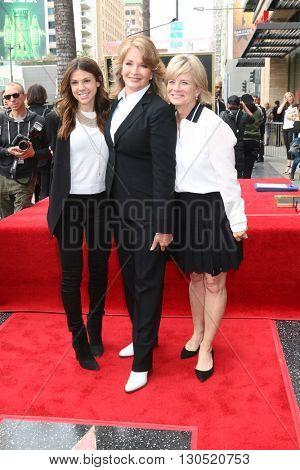 LOS ANGELES - MAY 19:  Kate Mansi, Deidre Hall, Mary Beth Evans at the Deidre Hall Hollywood Walk of Fame Ceremony at Hollywood Blvd. on May 19, 2016 in Los Angeles, CA