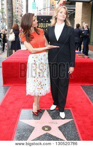 LOS ANGELES - MAY 19:  Kristian Alfonso, Deidre Hall at the Deidre Hall Hollywood Walk of Fame Ceremony at Hollywood Blvd. on May 19, 2016 in Los Angeles, CA