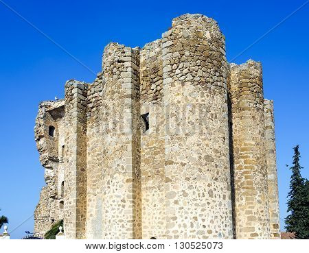 Polan castle fortress built around the twelfth century for defensive purposes Spanish population of the province of Toledo in Castilla-La Mancha.