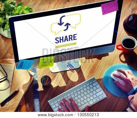 Businessman Communicaton Connected Devices Concept
