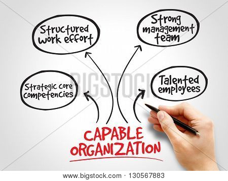 Capable Organization, Strategy Mind Map