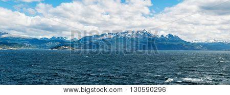 Beagle channel, Tierra del Fuego, Patagonia, Chile / Argentina