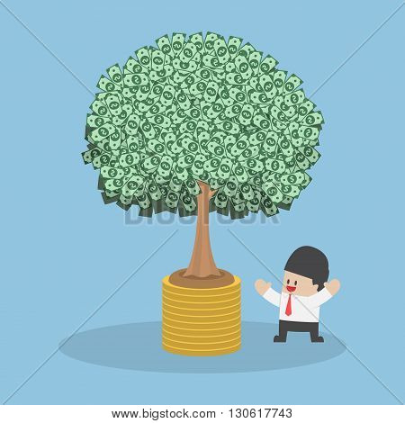 Tree Growth From Money Coin