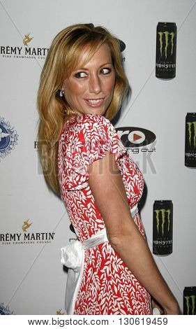 Melissa Jo Hunter at the 2nd Annual Celebrity Poker Tournament to Benefit The Urban Health Institute held at the Playboy Mansion in Holmby Hills, USA on April 28, 2007.