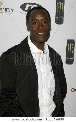 Don Cheadle at the 2nd Annual Celebrity Poker Tournament to Benefit The Urban Health Institute held at the Playboy Mansion in Holmby Hills, USA on April 28, 2007.