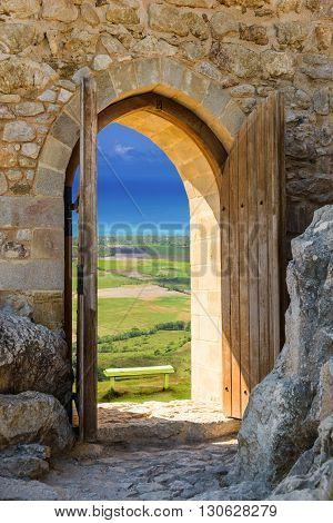 Arch Open Door Fortress
