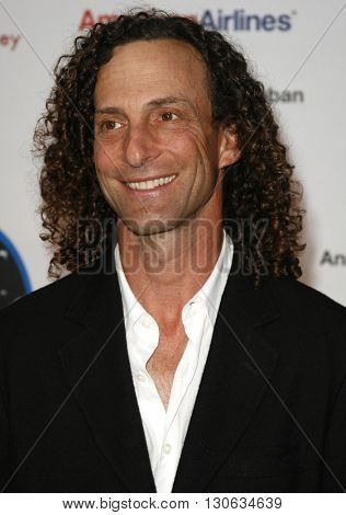 Kenny G at the National Kidney Foundation of Southern California's 28th Annual Gift of Life Celebration held at the Warner Bros. Lot in Burbank, USA on April 29, 2007.
