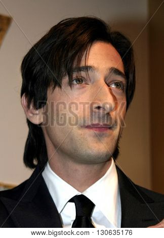 Adrien Brody at the 77th Annual Academy Awards Nominations Announcement held at the Samuel Goldwyn Theater AMPAS in Beverly Hills, USA on January 25, 2005.