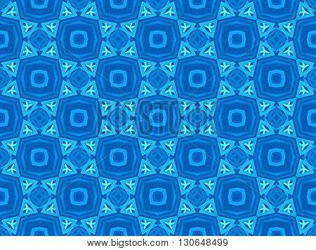 art blue seamless abstract pattern illustration background