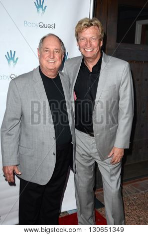 LOS ANGELES - MAY 19:  Neil Sedaka, Nigel Lythgoe at the BabyQuest Fundraiser Gala at Private Estate on May 19, 2016 in Toluca Lake, CA