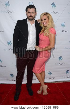LOS ANGELES - MAY 19:  Nick Carpenter, Bridget Marquardt at the BabyQuest Fundraiser Gala at Private Estate on May 19, 2016 in Toluca Lake, CA