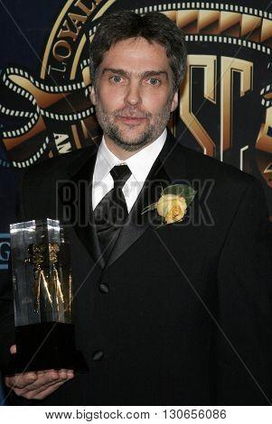 David Moxness at the 21st Annual ASC Awards held at the Hyatt Regency Century Plaza Hotel in Century City, USA on February 18, 2007.