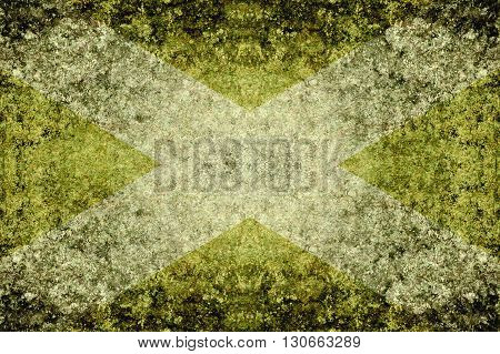 old grunge green abstract pattern illustration background