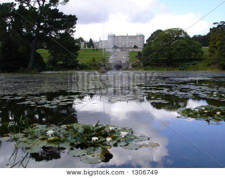 Powerscourt House And Lake