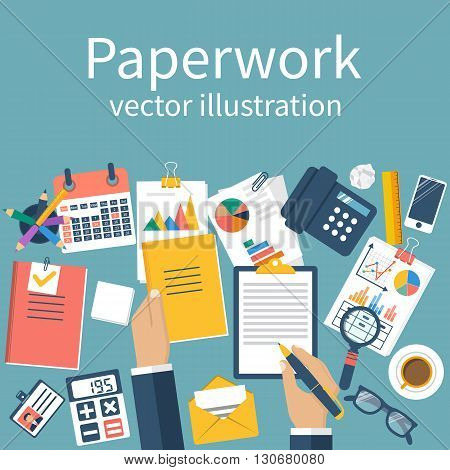 Paperwork. Work With Documents