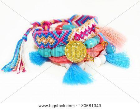 bohemian style jewelry - summer jewelry - bohemian gypsy bracelets