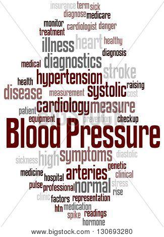 Blood Pressure, Word Cloud Concept 2
