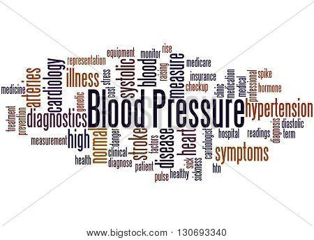Blood Pressure, Word Cloud Concept 5