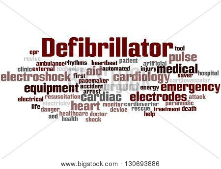 Defibrillator, Word Cloud Concept 4