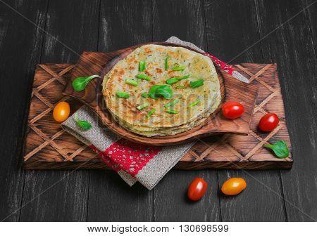 Flatbread Paratha Roti