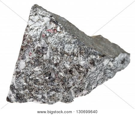 Piece Of Stibnite (antimonite, Antimony Ore)