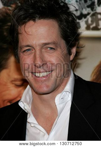 Hugh Grant at the Los Angeles premiere of 'Music and Lyrics' held at the Grauman's Chinese Theater in Hollywood, USA on February 7, 2006.