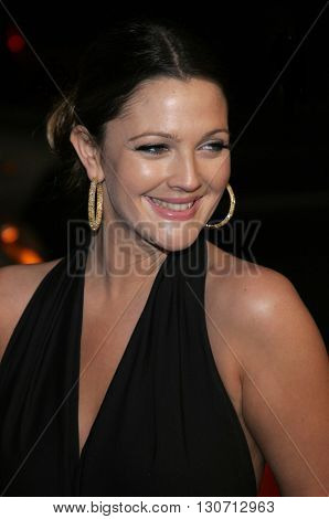 Drew Barrymore at the Los Angeles premiere of 'Music and Lyrics' held at the Grauman's Chinese Theater in Hollywood, USA on February 7, 2006.