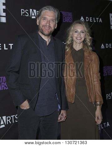 LOS ANGELES - MAY 20:  Craig Ferguson, Megan Wallace Cunningham at the PS Arts - The Party at NeueHouse Hollywood on May 20, 2016 in Los Angeles, CA
