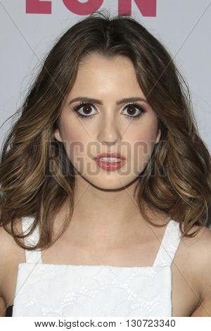 LOS ANGELES - MAY 12:  Laura Marano at the NYLON Young Hollywood May Issue Event at HYDE Sunset on May 12, 2016 in Los Angeles, CA