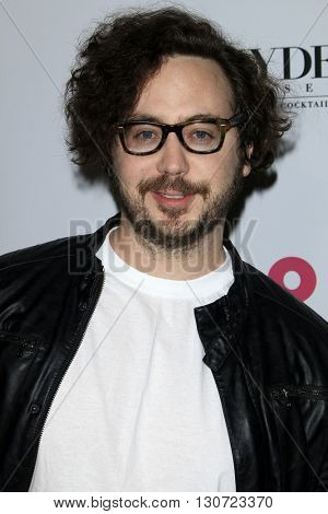 LOS ANGELES - MAY 12:  Marty Shannon at the NYLON Young Hollywood May Issue Event at HYDE Sunset on May 12, 2016 in Los Angeles, CA