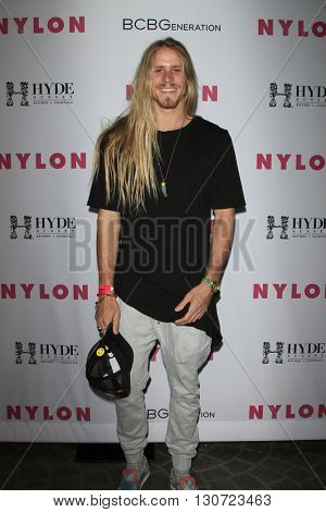 LOS ANGELES - MAY 12:  Michael Haverly at the NYLON Young Hollywood May Issue Event at HYDE Sunset on May 12, 2016 in Los Angeles, CA