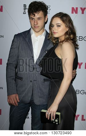 LOS ANGELES - MAY 12:  Nolan Gould, Joey King at the NYLON Young Hollywood May Issue Event at HYDE Sunset on May 12, 2016 in Los Angeles, CA
