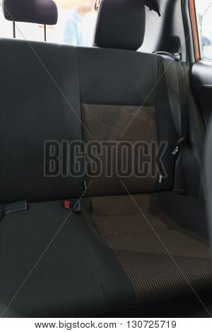 New Fabric Passenger Backseat In Car